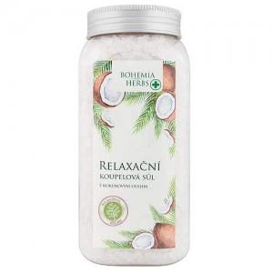 Bohemia Herbs kokosová soľ do kúpeľa, 900g (BC066005)