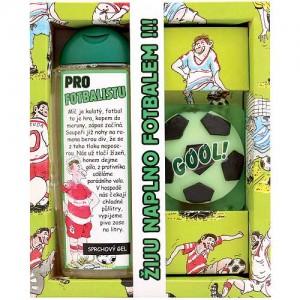 Kozmetika pre futbalistu: sprchový gél (300ml), ručne vyrábané mydlo (131116)
