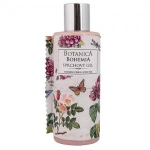 Botanica Bohemia - sprchový gél, šípka a ruža, 200ml (BC190027)