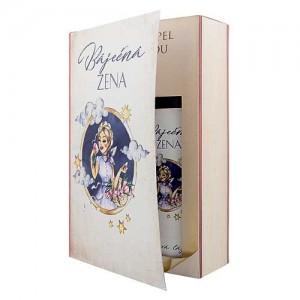Bohemia Gifts Báječná žena, sprchový gél + olejový kúpeľ (BC190179)