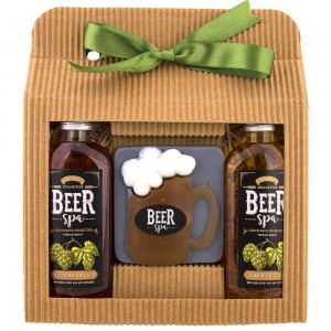 Sada Beer Spa sprchový gél, mydlo, šampón (BC701530)