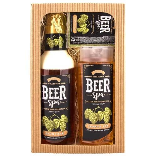 Beer Spa sada sprchový gél, pena, mydlo (BC802602)