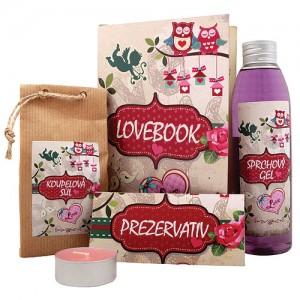 Lovebook - darčeková kniha pre zamilovaných