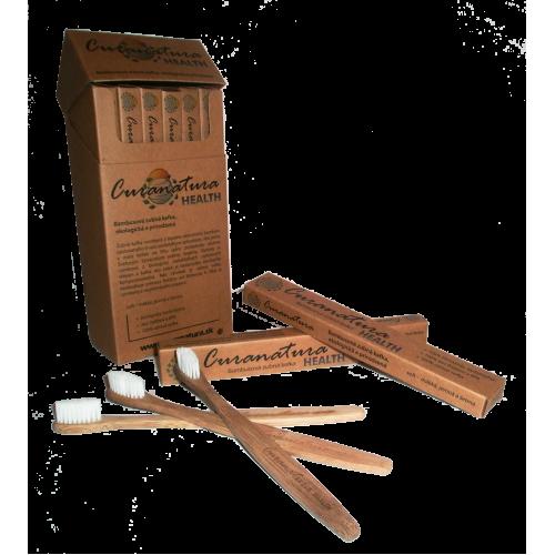 Curanatura Health - Bambusová zubná kefka