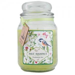 Darčeková sviečka v skle - milej maminke (180004)