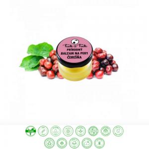 Prírodný balzam na pery čerešňa (20ml) - Ťuli a Ťuli