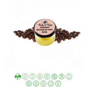 Prírodný balzam na pery káva (20ml) - Ťuli a Ťuli