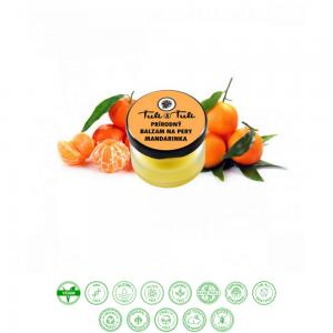 Prírodný balzam na pery mandarinka (20ml) - Ťuli a Ťuli
