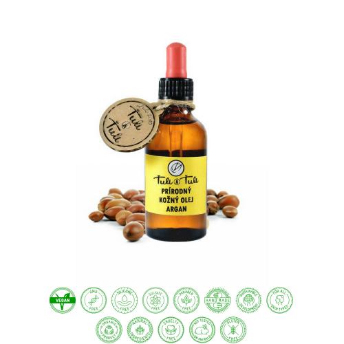 Prírodný kožný olej argan (50ml) - Ťuli a Ťuli