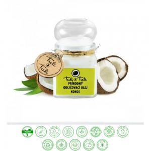 Prírodný odličovací olej kokos (100ml) - Ťuli a Ťuli