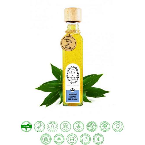 Prírodný šampón gáfor, nielen pre chlapa (250ml) - Ťuli a Ťuli