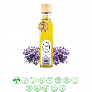 Prírodný šampón levanduľa (250ml) - Ťuli a Ťuli