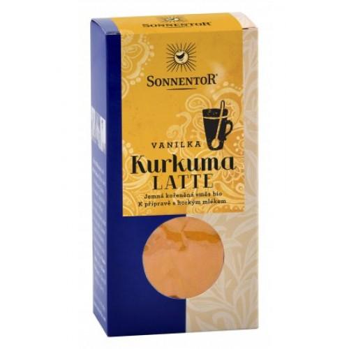 SONNENTOR BIO Kurkuma Latte - vanilka, 60g