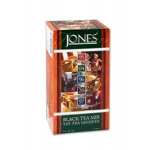 JONES Variácia no.25 Black 5x5x2g (6620)