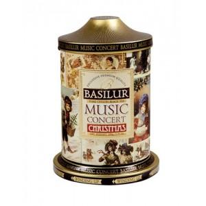 BASILUR Music Concert Christmas plech 100g (7608) - hracia skrinka