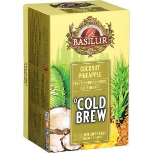BASILUR Cold Brew Coconut Pineapple 20x2g (3991)