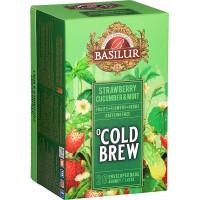 BASILUR Cold Brew Strawberry Cucumber & Mint 20x2g (3992)