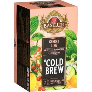 BASILUR Cold Brew Cherry Lime 20x2g (3994)