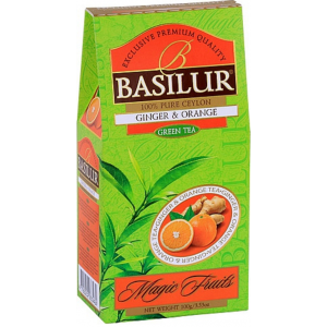 BASILUR Magic Green Ginger & Orange papier 100g (3801)