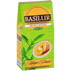 BASILUR Magic Green Melon & Banana papier 100g (3809)