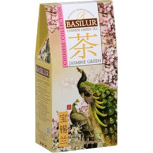 BASILUR Chinese Jasmine Green papier 100g (3822)