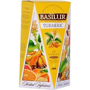 BASILUR Herbal Infusions Turmeric 15x2g (4096)
