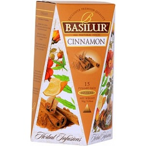 BASILUR Herbal Infusions Cinnamon 15x2g (4097)