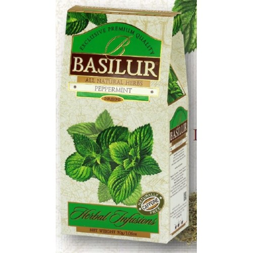 BASILUR Herbal Peppermint papier 30g (4110)