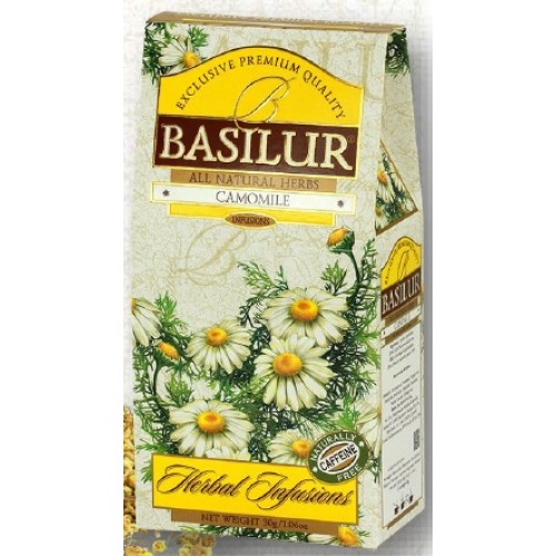 BASILUR Herbal Camomile papier 30g (4111)
