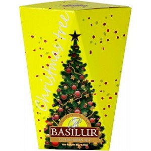 BASILUR Christmas Tree Colour Yellow papier 85g (4174)
