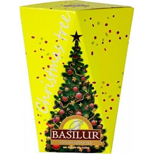 BASILUR Christmas Tree Colour Yellow papier 85g (4174)