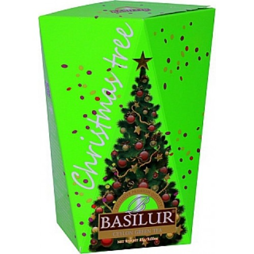 BASILUR Christmas Tree Colour Green papier 85g (4175)