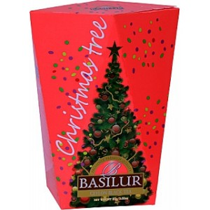 BASILUR Christmas Tree Colour Red papier 85g (4176)