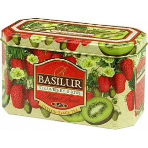 BASILUR Magic Strawberry & Kiwi plech 20x2g (4202)