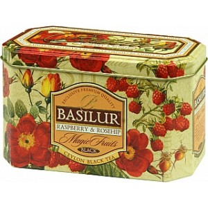BASILUR Magic Raspberry & Rosehip plech 20x2g (4204)