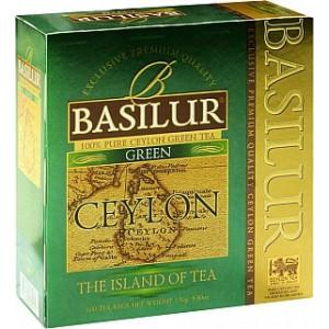 BASILUR Island Ceylon Green 100x1,5g (4396)