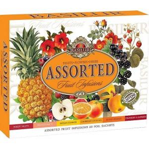 BASILUR Fruit Infusions Assorted 60 sáčkov (4431)