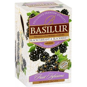 BASILUR Fruit Blackcurrant & Blackberry 20x1,8g (4440)