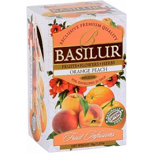 BASILUR Fruit Orange Peach 20x1,8g (4442)