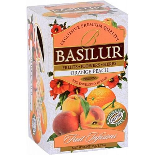BASILUR Fruit Orange Peach 20x1,8g (4442)