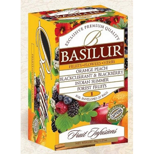 BASILUR Fruit Infusions Assorted Vol. I. 20x1,8g (4448)