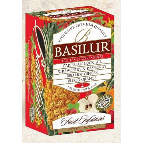 BASILUR Fruit Infusions Assorted Volume II. 20x1,8g (4449)