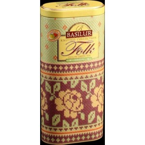 BASILUR Knitted Folk Green plech 100g (4534)