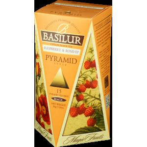BASILUR Magic Raspberry & Rosehip Pyramid 15x2g (4751)