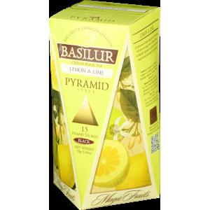 BASILUR Magic Lemon & Lime Pyramid 15x2g (4752)
