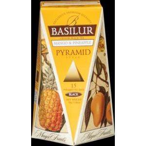 BASILUR Magic Mango & Pineapple Pyramid 15x2g (4754)