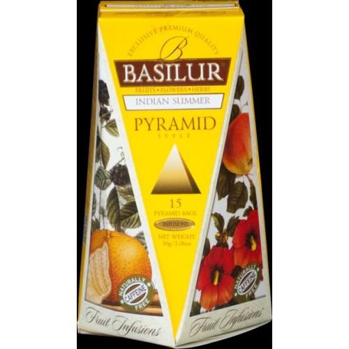 BASILUR Fruit Indian Summer Pyramid 15x2g (4760)