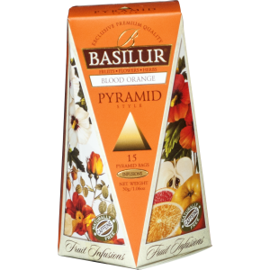 BASILUR Fruit Blood Orange Pyramid 15x2g (4763)