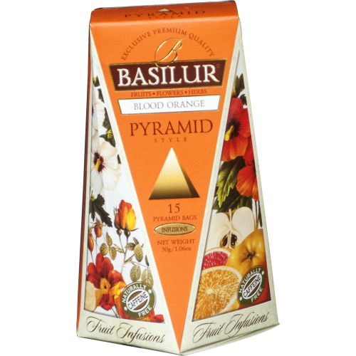 BASILUR Fruit Blood Orange Pyramid 15x2g (4763)