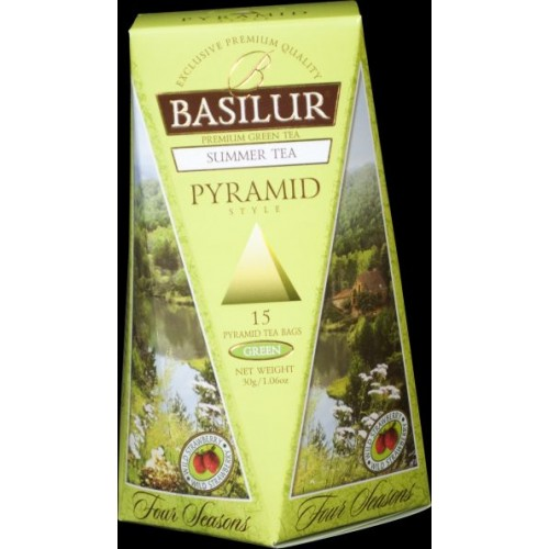 BASILUR Four Season Summer Pyramid 15x2g (4772)